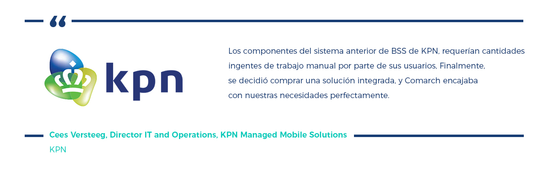Managed Services, Caso Práctico KPN